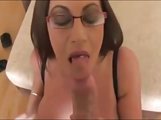 Busty 10 - Topless Cum Swallower Girl