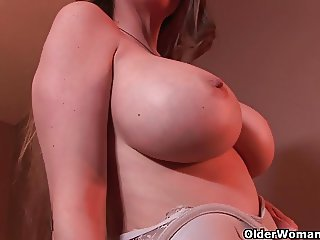 Mature milfs know how to take your cum load
