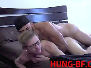 Hung Nerd Bred By BBC