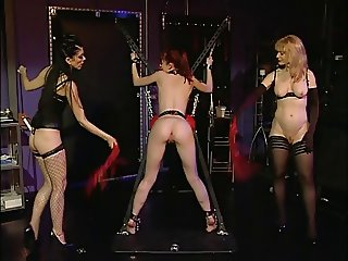 Nina Hartley and two randy sluts caress