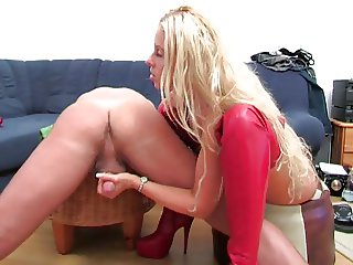 milked on a chair
