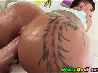Booby whore Bella Bellz asshole slammed