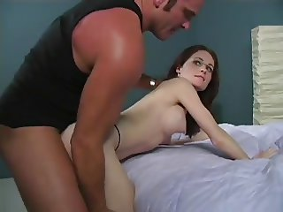 Wife banged in front of her husband