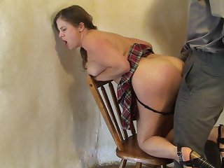 Naughty Babysitter gets Anal