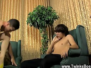 Gay guys first time anal is bloody Danny's