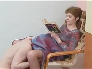 Dress pussy licking