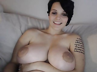 Gorgeous Boobs Girl Webcam Show