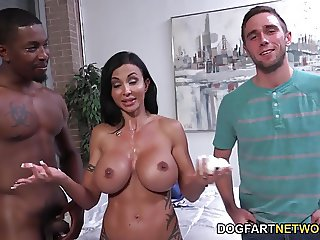 Jewels Jade Goes Black In Front Of Her Stepson