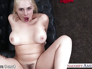 Chesty wife Sarah Vandella gets fucked