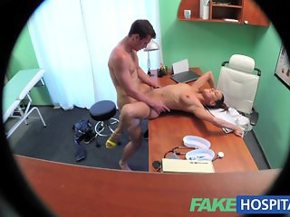 FakeHospital Nurse makes doctors son cum