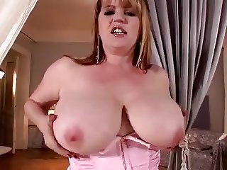 Lucy Williams Plays With Her Big Sexy Boobs