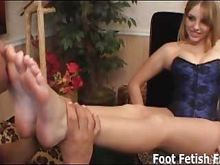 If you worship my feet I will give you a footjob