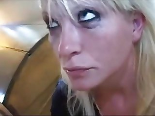 danish blonde mouth fucked
