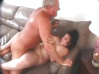 Chubby hairy wife with small hangers fucked