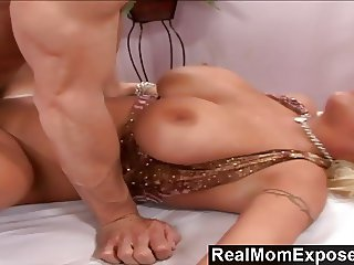 RealMomExposed - Busty Milf Seduced And Fucked