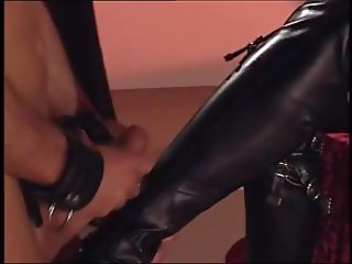 Cum on My Boots more at fem69.tk