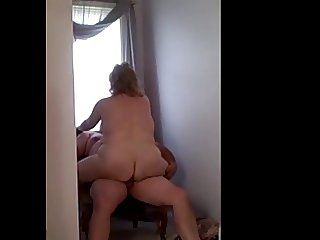 every man deserves a good fuck & the chair is the place