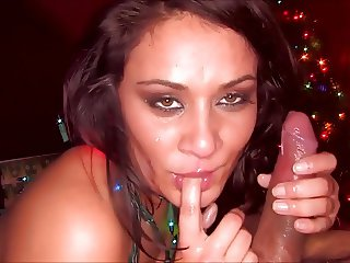 She Finishes It Off 2 - Cum In Mouth Compilation
