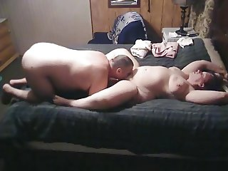 BBW wife gets eaten and fingered by husband