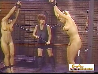 Slaves Make The Mistress Happy In The Dungeon