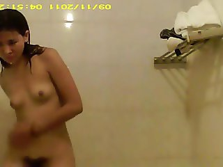 Girl Showering