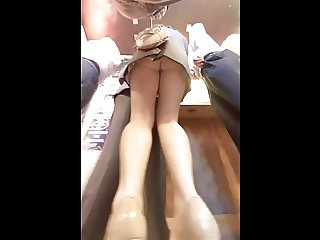 office girl heels upskirt (not mine)