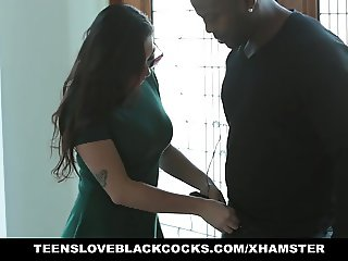 Busty Karlee Grey Worships Monster Black Cock