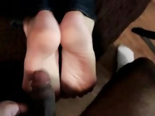 Erin Duval Interracial Footjob