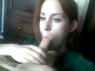Wife - worlds best blowjob - sucking off huge cock