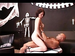 hallowen sex party with NOT dad