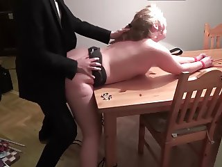 My new slut in her fisrst session! Pt 2