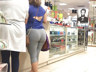 H-Town Latina Wedgie in Grey
