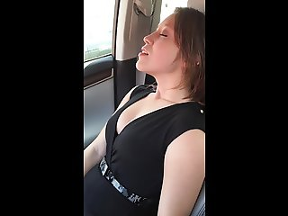 Unsuspecting Hot Girl gets  pleasure from the Tickleseat.