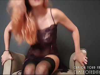 Jerk Off Instructions From Gorgeous Blonde