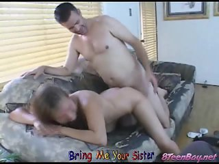 Hannah & Andy Young Teens Fucking