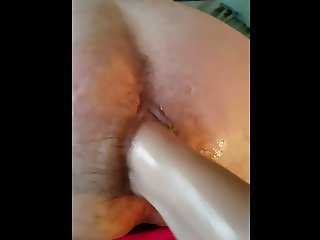 Husband Getting Fisted in Panties