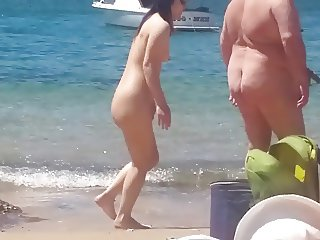 Asian girl at nude beach  Sydney part 2