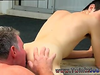 Young gay twink cum eaters Daddy Brett