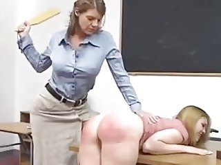 Paddled Hard by the Professor