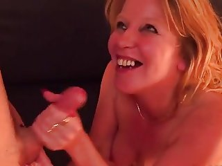 Hot milf and her younger lover 53