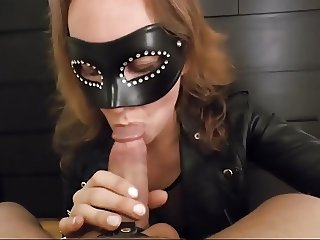 She loves to suck it...