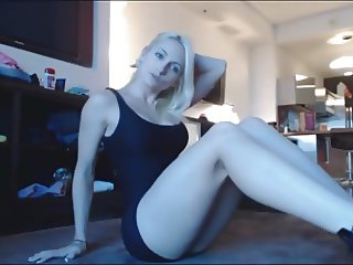 perfect blonde anal dildo squirt