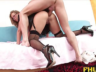 FHUTA - Colette Welcomes a Large Cock With Her Asshole
