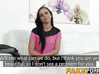 Hot and horny Joana Black gets drilled on a casting couch