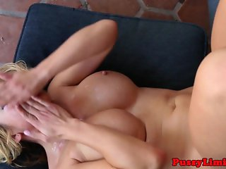 Cock hungry slut facefucked rough
