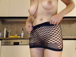 Big titted milf masturbate