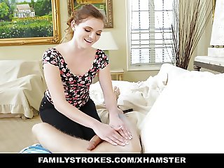 Strokes - Crazy StepSis Seduces Big not brother