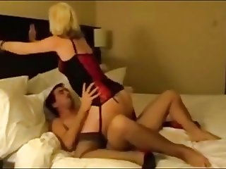 hubby films his wife getting fucked by various men
