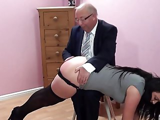 Over Daddy's Knee