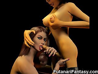 3D Trannies and Futanari Teens!